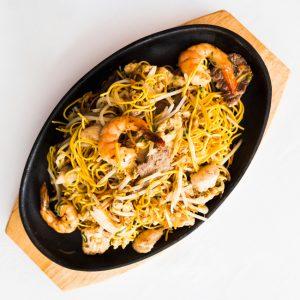 Tallarines 3 delicias restaurante asiatico Alicante