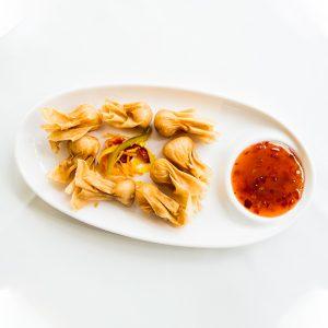 Wan tun frito restaurante asiatico alicante