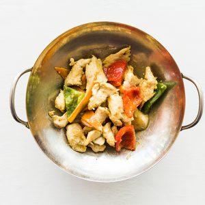Pollo curry restaurante asiatico Alicante